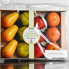Assortment of Fruit-Shaped Marzipan