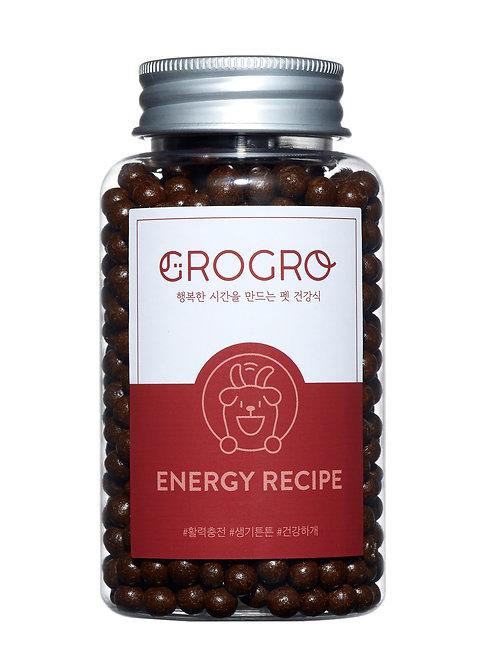 GROGRO ENERGY RECIPE(에너지 레시피)