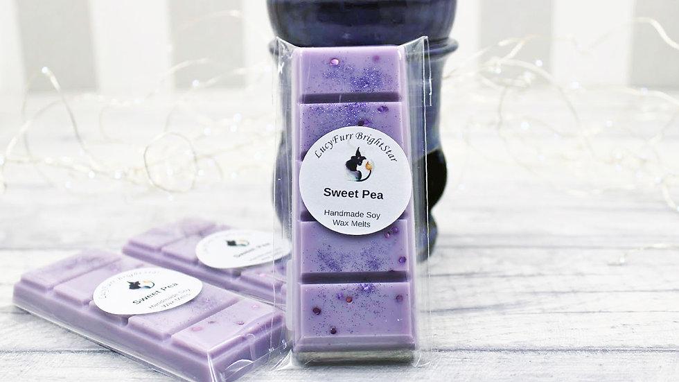 Sweet Pea Wax Melt Snap Bar