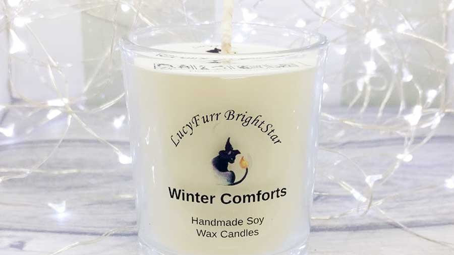 Winter Comforts Container Candle