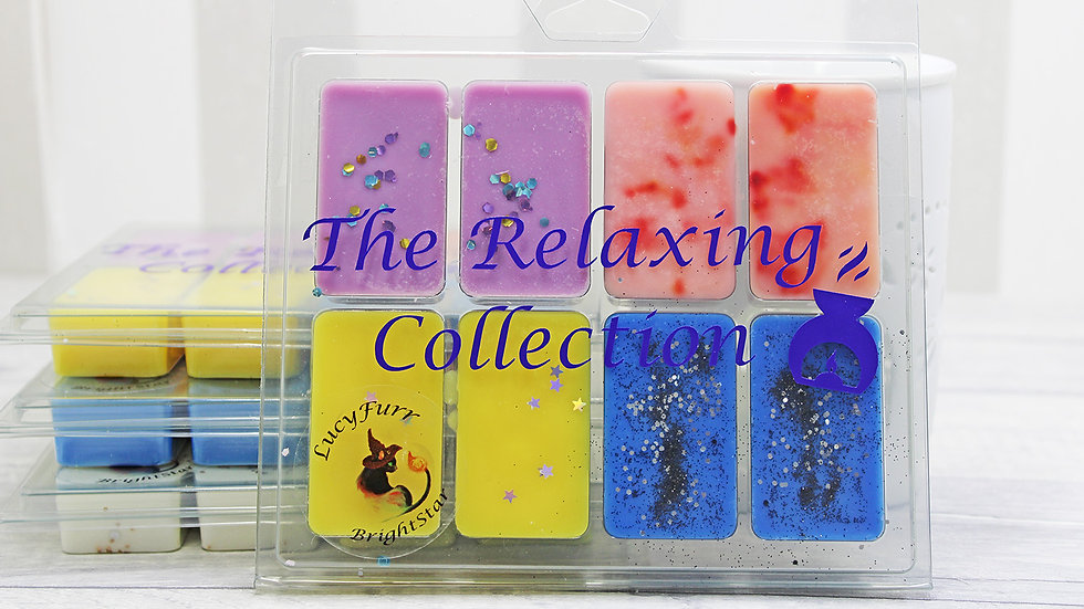 Relaxing Soy Wax Melt Clamshell