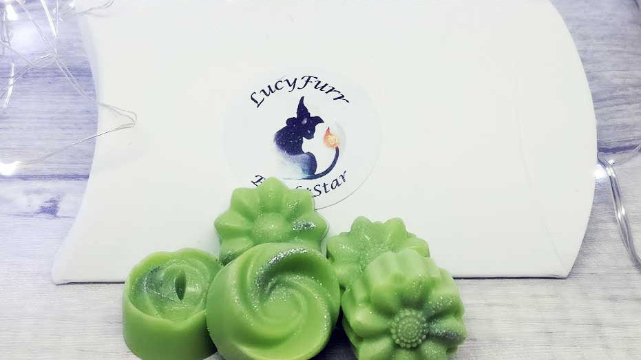 Peppermint and Eucalyptus Candle Melts