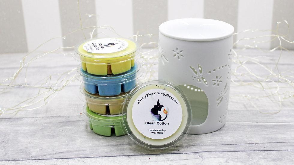 Clean Cotton Segment Pot