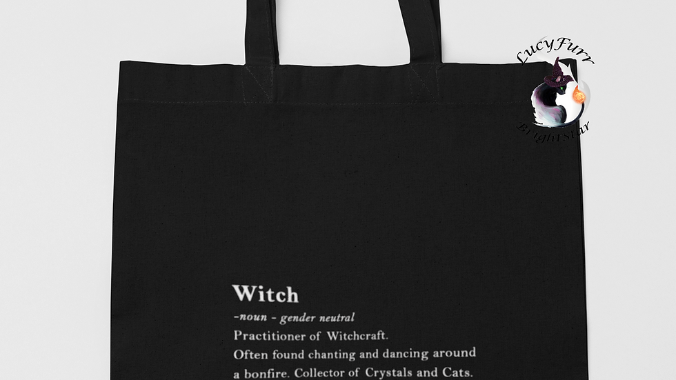 Witch Definition Tote Bag