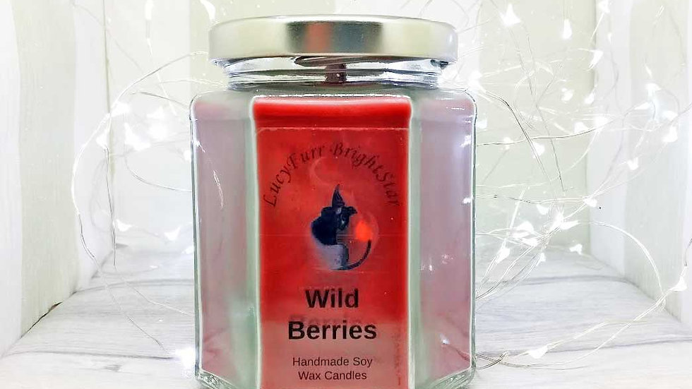 Wild Berries Jar Candle