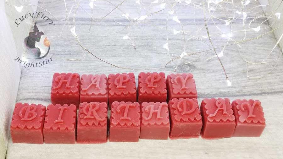 Happy Birthday Personalised Wax Melts