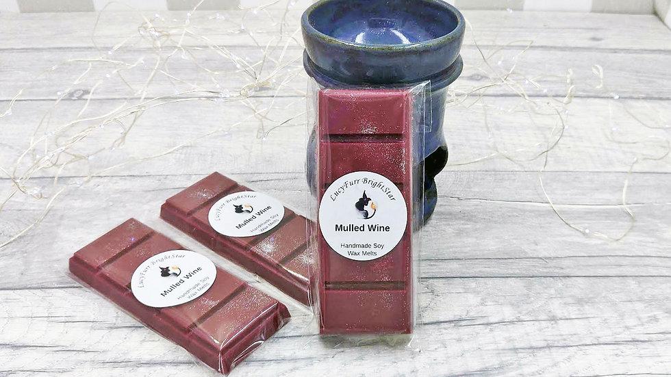Mulled Wine Wax Melt Snap Bar
