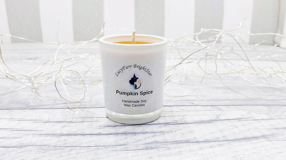 Pumpkin Spice Container Candle
