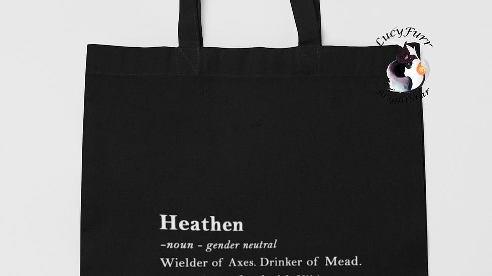 Heathen Definition Tote Bag