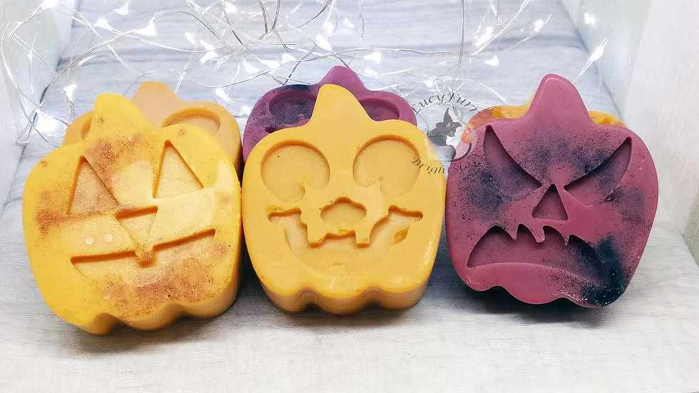 Jack-O'-Lantern Pumpkin Big Soy Wax Melts