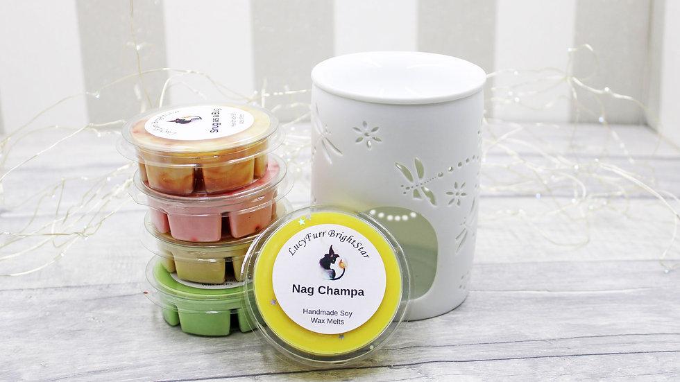 Nag Champa Segment Pot