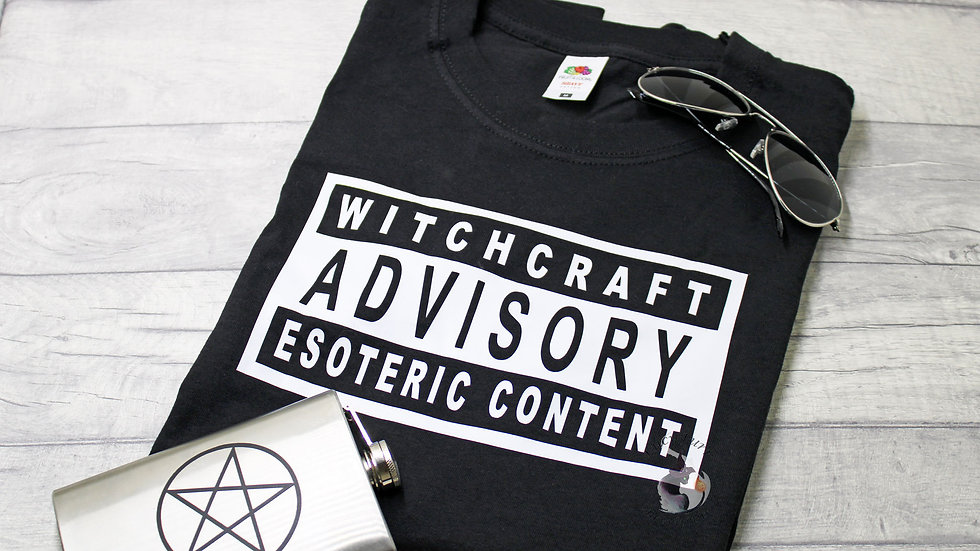 Witchcraft Advisory T-Shirt