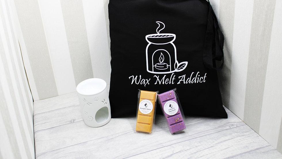 Wax Melt Addict Cotton Tote Bag