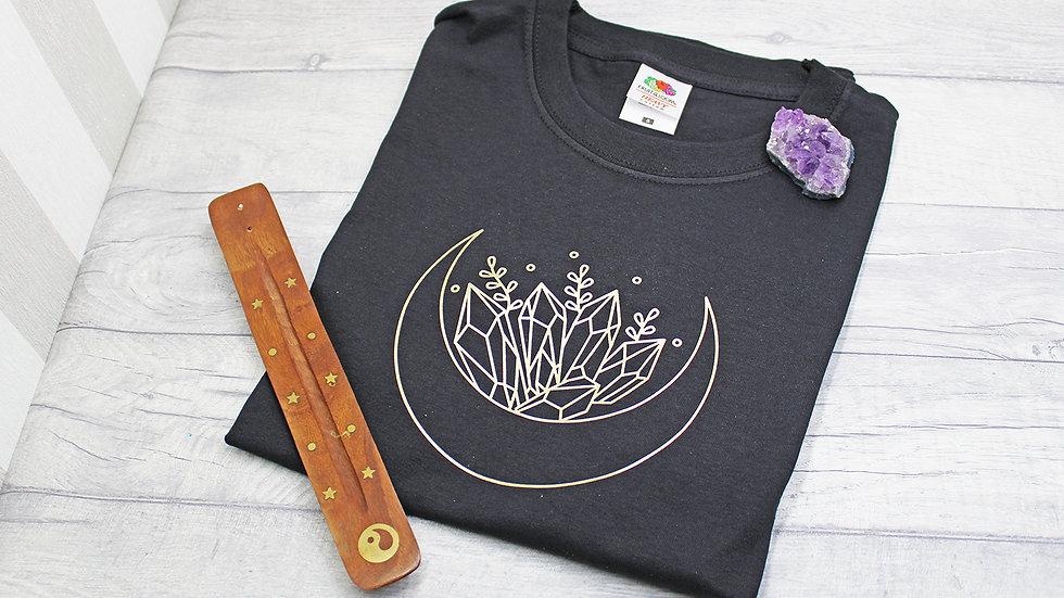 Moon and Crystals T-Shirt