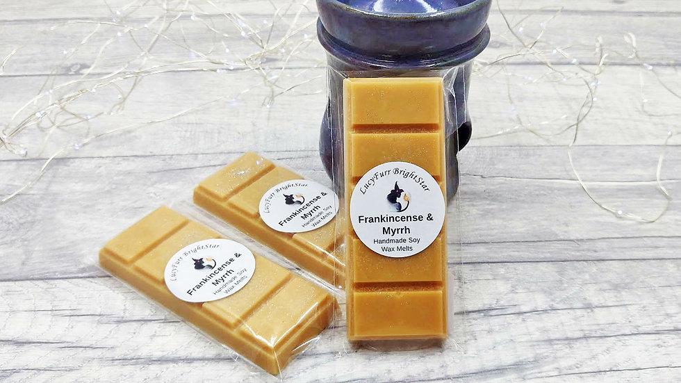 Frankincense and Myrrh  Wax Melt Snap Bar