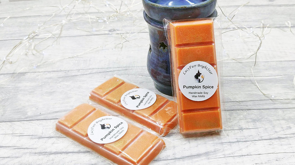 Pumpkin Spice Wax Melt Snap Bar
