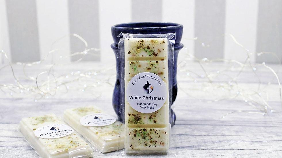 White Christmas Wax Melt Snap Bar