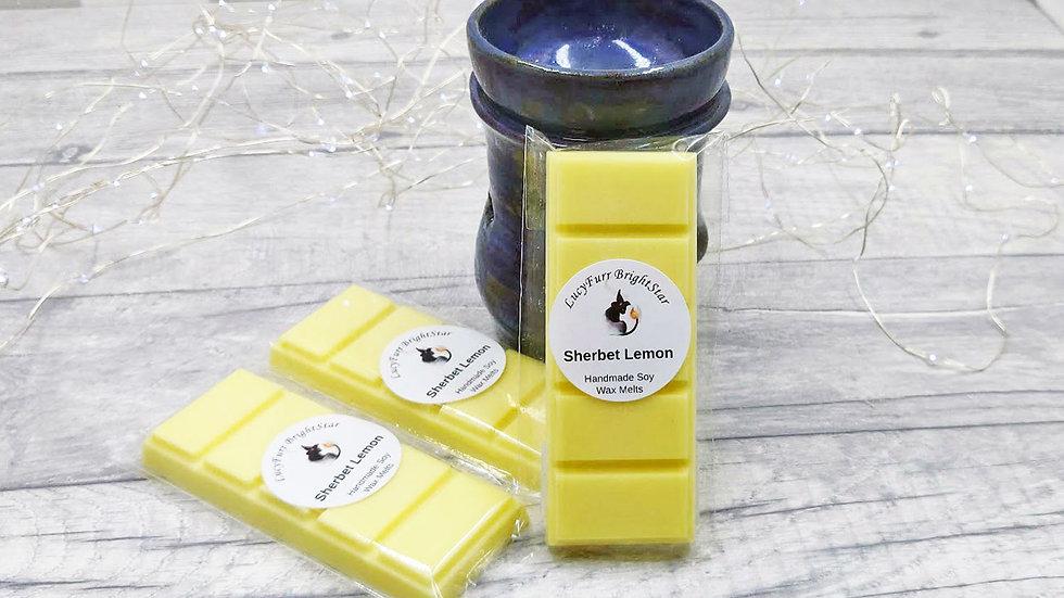 Sherbet Lemon Wax Melt Snap Bar