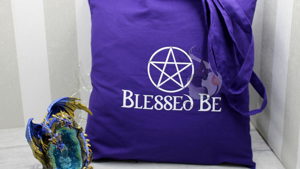 Blessed Be Cotton Tote Bag