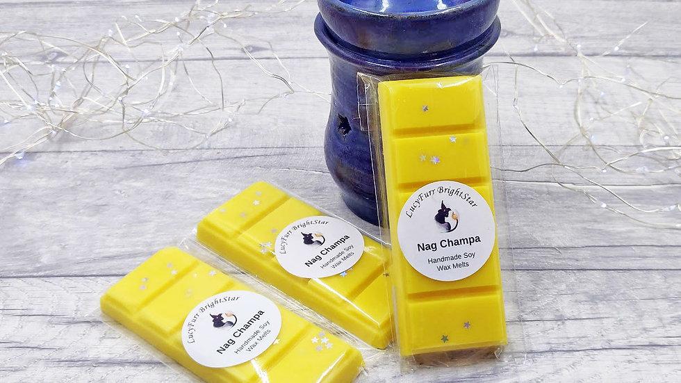Nag Champa Wax Melt Snap Bar