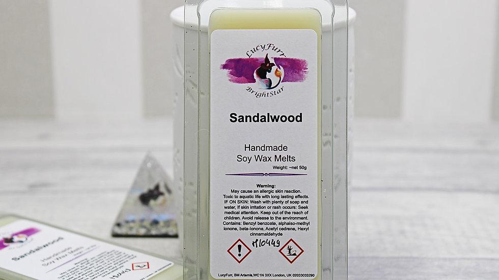 Sandalwood Wax Melt Snap Bar