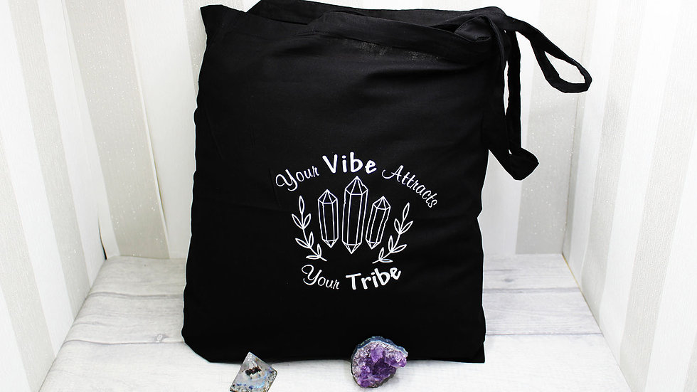 Your Vibes Cotton Tote Bag