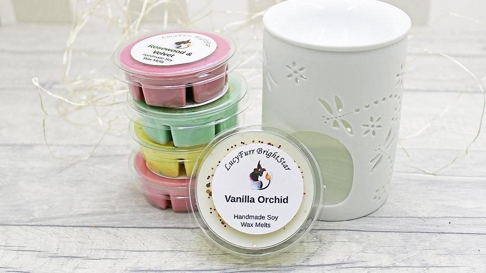 Vanilla Orchid Segment Pot