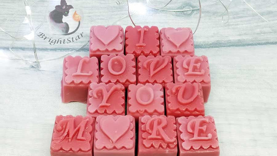 Love You More Personalised Wax Melts