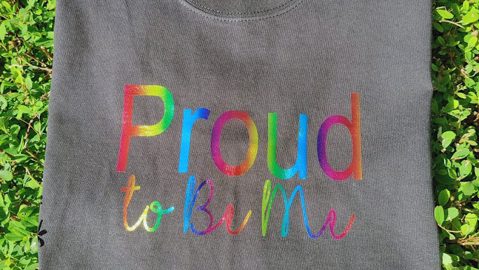 Proud to Be Me Cotton T-shirt