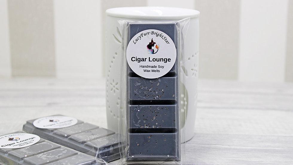 Cigar Lounge Wax Melt Snap Bar