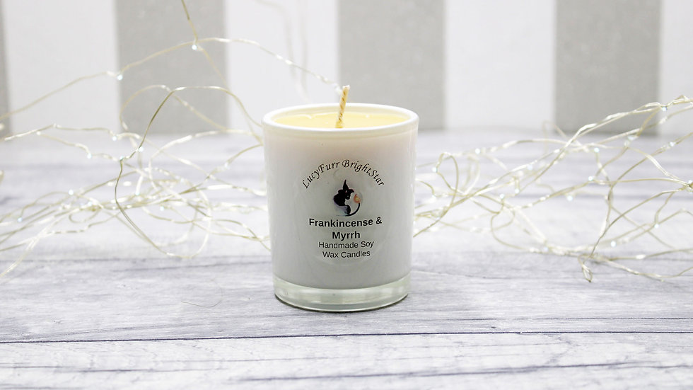 Frankincense and Myrrh Container Candle
