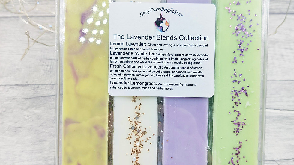 Lavender Blends Collection Soy Wax Melt Large Clamshell