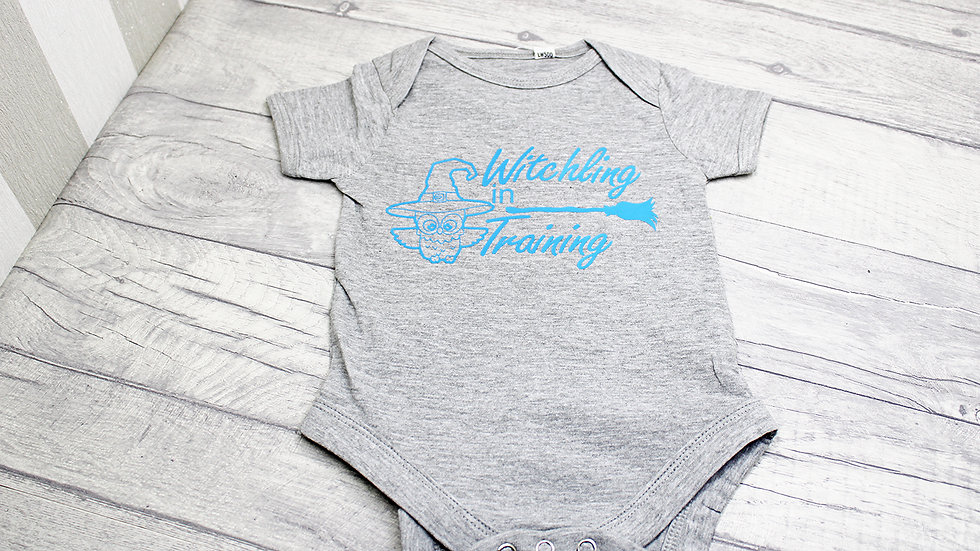 Witchling in Training Baby Vest