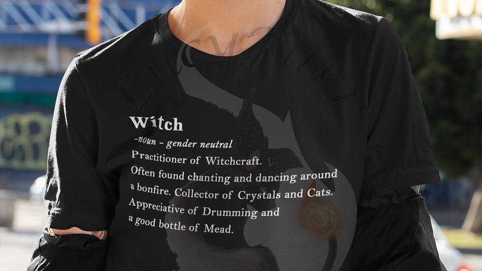 Witch Definition Cotton T-shirt
