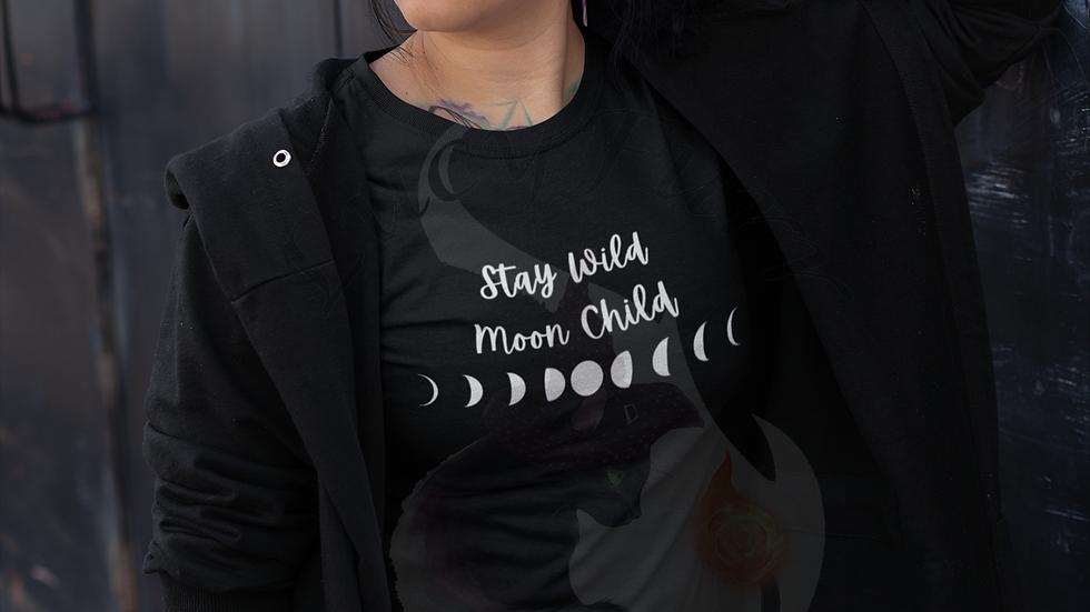 Stay Wild Moon Child Cotton T-shirt