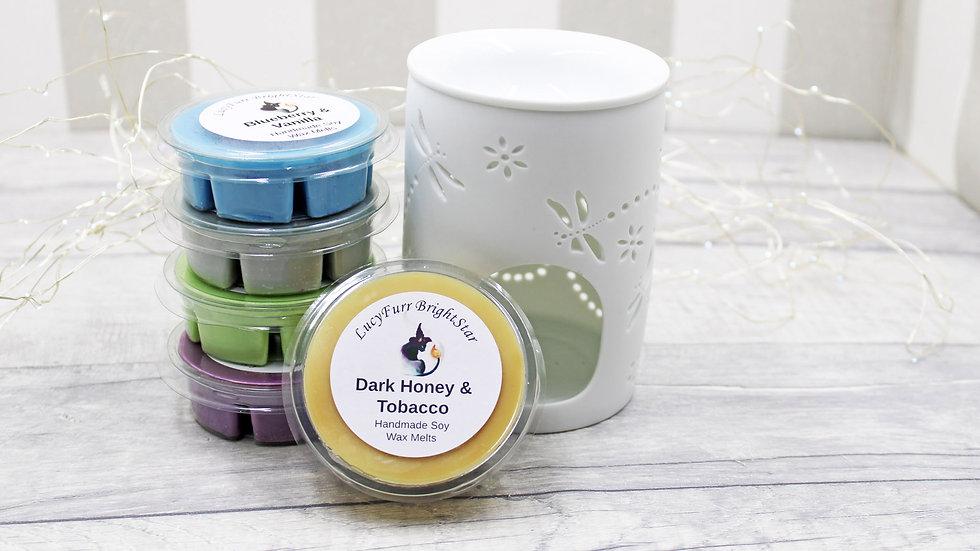 Dark Honey and Tobacco Segment Pot