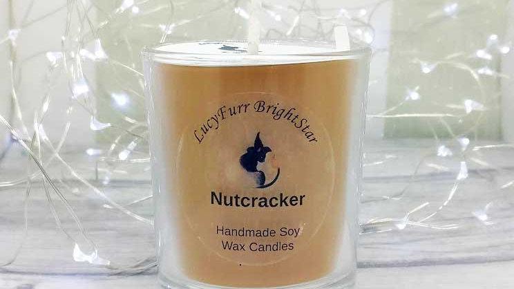 Nutcracker Container Candle
