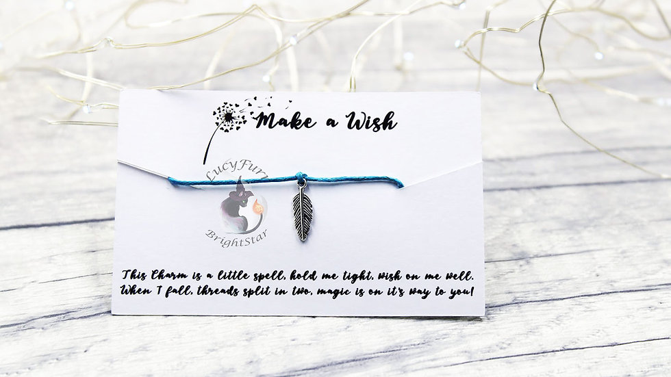 Feather Wish Bracelet