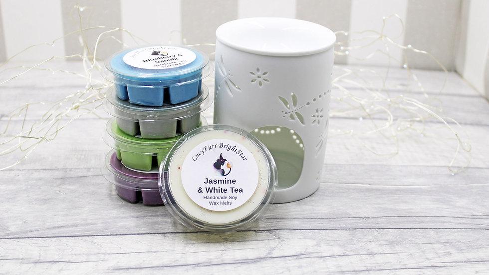 Jasmine and White Tea Segment Pot