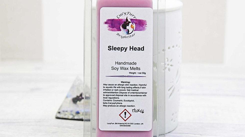 Sleepy Head Wax Melt Snap Bar