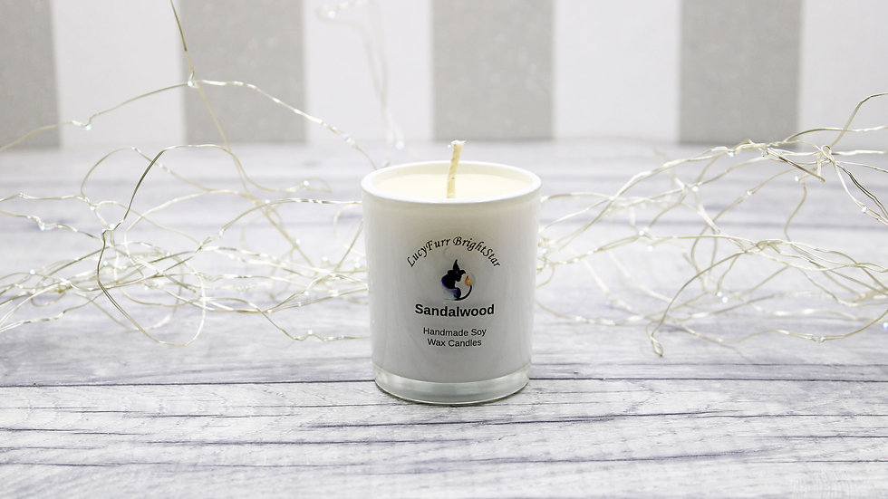 Sandalwood Container Candle