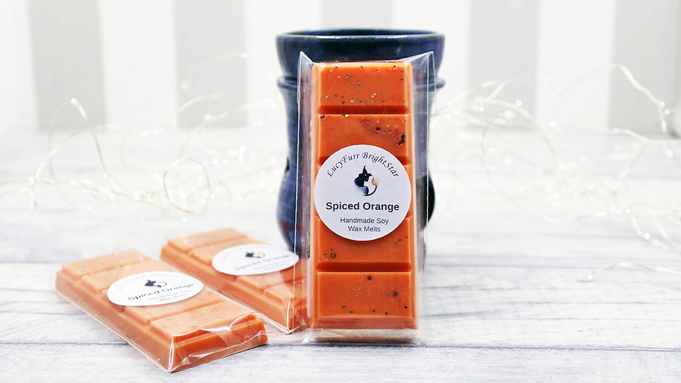 Spiced Orange Wax Melt Snap Bar