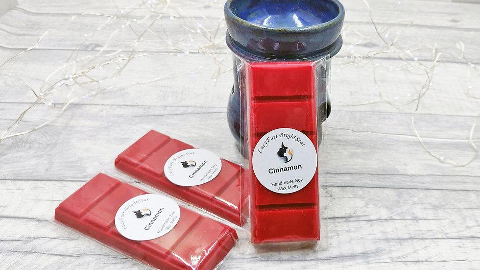 Cinnamon Wax Melt Snap Bar