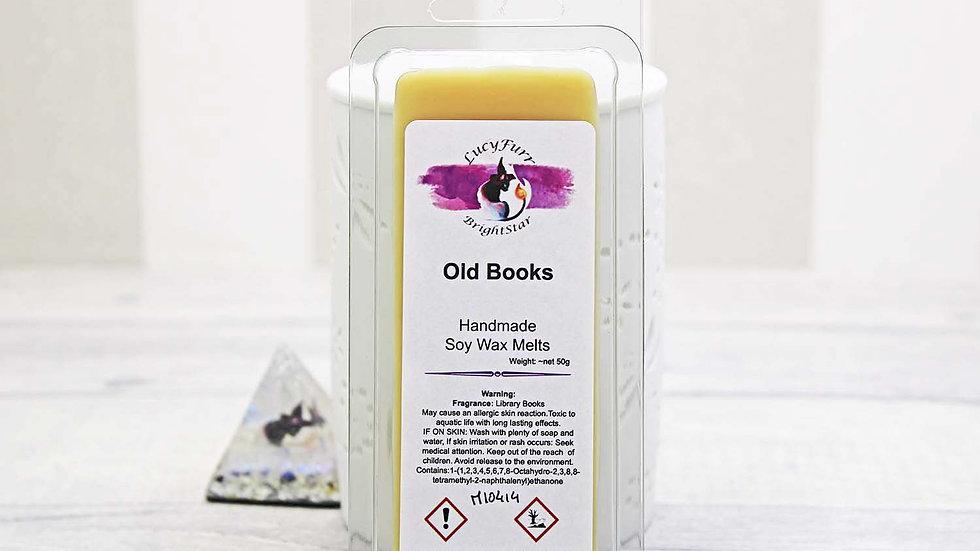 Old Books Wax Melt Snap Bar