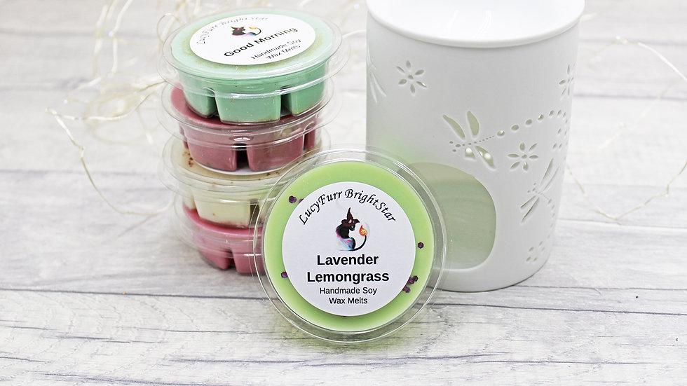 Lavender Lemongrass Segment Pot