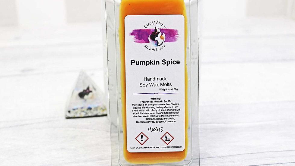 Pumpkin Spice Wax Melt Snap Bar