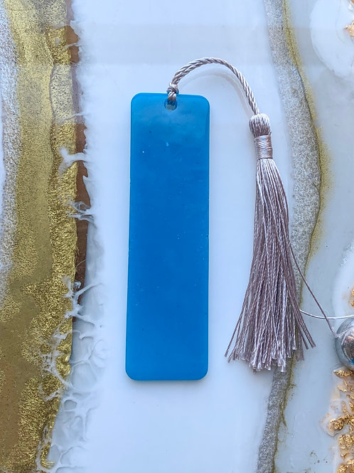 Blue Bookmark