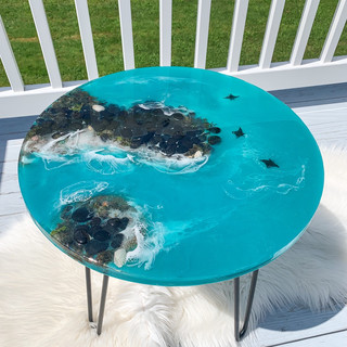 Oceanscape table