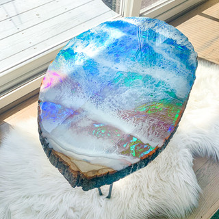 Holographic Ocean Table