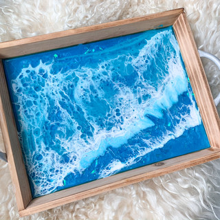 Holographic Ocean Tray